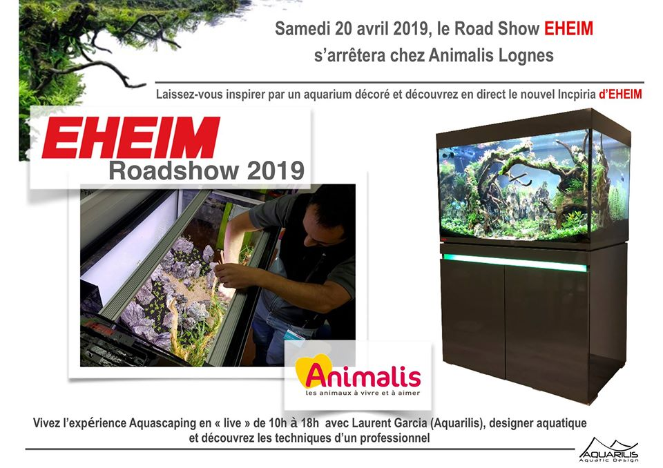 Road Show Eheim Animalis Lognes