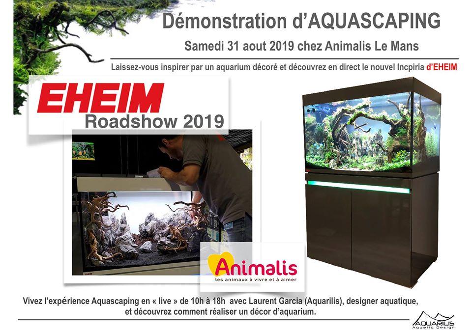 Animalis Le Mans - Road Show Eheim