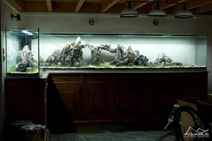 aquarium deux cotes