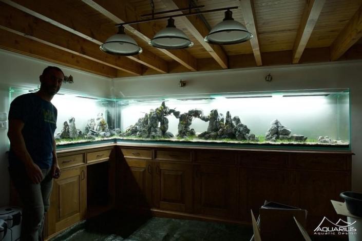 aquarium en L